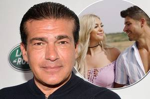 actor dad of love island's belle hassan hits out at 'disloyal' anton danyluk