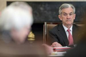 fed's powell reiterates pledge to act appropriately to support u.s. economy