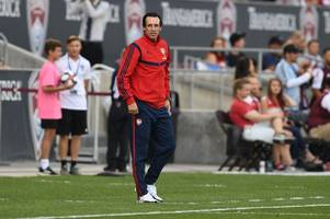 every word arsenal boss unai emery just said on koscielny, martinelli, tierney and transfers