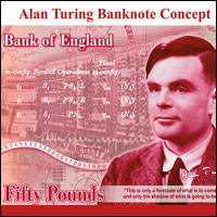 code cracker turing to be on 50-quid notes
