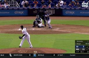 HIGHLIGHTS: Manuel Margot launches solo shot to left