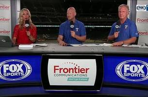 texas unable to hold arizona, falls 9-2 | rangers live