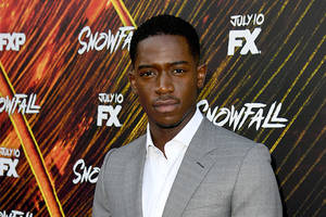 'snowfall's' damson idris to co-lead netflix's 'outside the wire' with anthony mackie