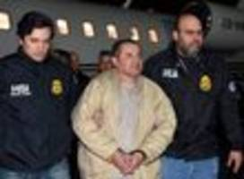 el chapo sentenced to life in prison + 30 years, and must give up $12.6 billion