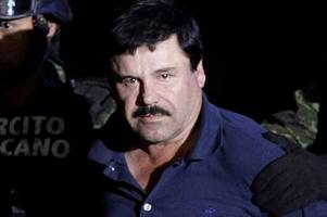 el chapo jailed for life as drug kingpin ordered to pay £10 billion