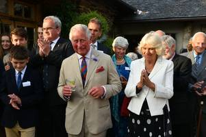 Prince Charles and Camilla spend a day in Devon - live updates