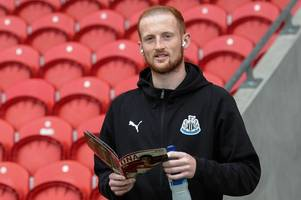 who is liam gibson? newcastle united defender's remarkable story of battling illness