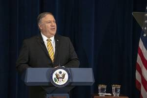 iran denies pompeo's claim it's ready to negotiate ballistic missile program