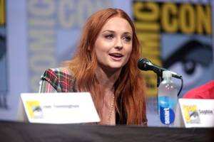 sophie turner reacts to her first emmy nomination