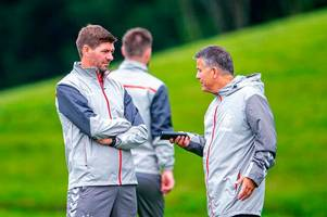 steven gerrard makes rangers transfer prediction and admits outcasts could boost his signing budget