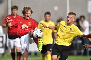 the new man utd 16-year-old who's the son of a famous wales football star