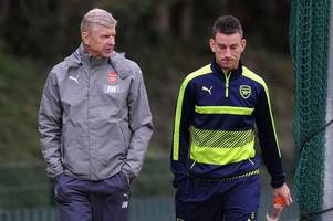 Arsene Wenger speaks out on Laurent Koscielny and Arsenal's captain situation