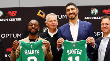 kemba walker recruited enes kanter to celtics with a simple phone call