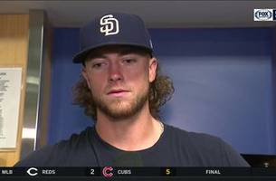 Chris Paddack talks about his great start and the emotions he felt