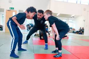 traditional form of wrestling alive and well in the city of bristol with big plans to challenge knife crime