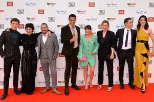 peaky blinders stars turn out for series five world premiere in birmingham