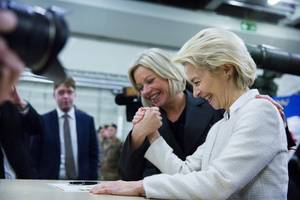 li congratulates von der leyen on winning election as new european commission president