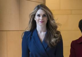 trump, cohen, hope hicks spoke just before hush payment to stormy daniels