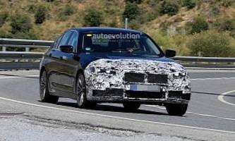 2021 bmw 5 series facelift spied for the first time