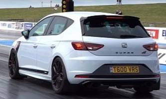589 hp seat leon cupra has awd and rs3 gearbox, does 11s quarter-mile
