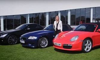 best second-hand sports cars review features boxster, z4 m, and slk