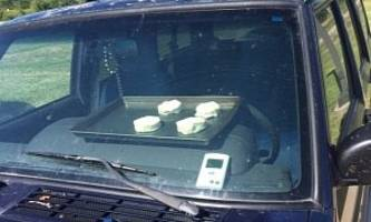national weather service nebraska bakes biscuits in car as heat advisory