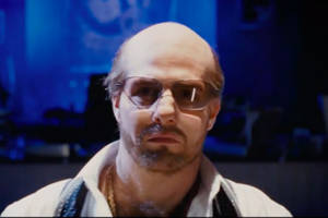 tom cruise brings his les grossman character from 'tropic thunder' to comic-con (video)