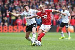 championship transfer rumours: forest striker set for move, trio chase whelan, bristol city after forward