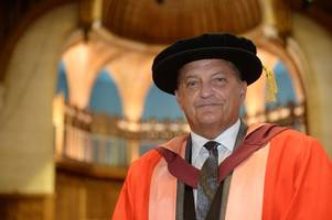 spurs legend and former bristol rovers player gary mabbutt celebrates honorary degree from university of bristol