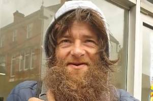 professional beggar's fierce 10-word defence over why he begs without being homeless