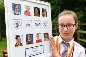 meet schoolgirl libbie who has never missed a lesson in eight years