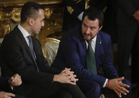 italy's warring coalition parties warn of government collapse