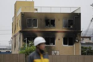 japan animation studio fire: suspected arsonist alleges kyoto studio plagiarised his work