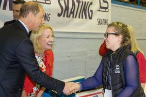 Uddingston skater has a day to remember as she meets Royalty