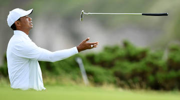 Tiger Woods Misses Cut at Open Despite Second-Round 70