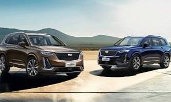 cadillac reveals new xt6 for chinese market, comes with 2.0-liter turbo engine