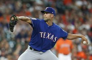 minor strikes out 10 in rangers 4-3 loss against astros