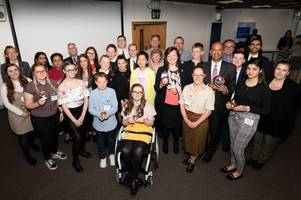 Awards night for young people's organisation