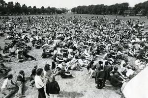 were you at this leicester pop festival at the close of the swinging sixties?