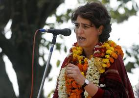 congress says 'jungle raj' in up, claims no water, electricity supply for priyanka...
