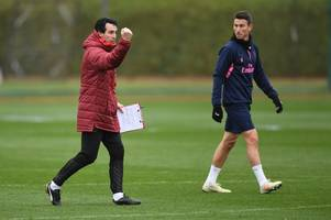 Unai Emery's comments which suggest Laurent Koscielny's Arsenal future has been decided