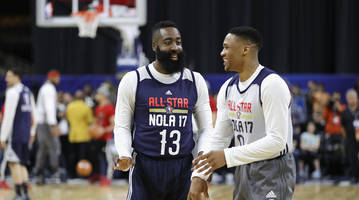 James Harden on Russell Westbrook Joining Rockets: 'I Trust Him; He Trusts Me'
