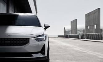 polestar 2 performance package to include brembo brakes, forged wheels