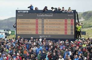 A glance at the final round of the British Open