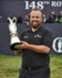 shane lowry admits he sat crying in the car park last year - now he's open champion