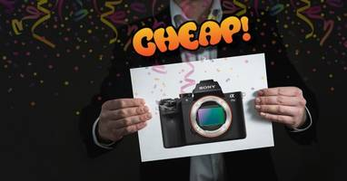 cheap: damn son(y), an a7 ii camera for $898? sign me the f up