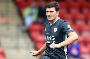 leicester city 'recognise the reality' of harry maguire transfer saga