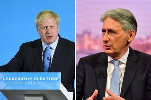 Chancellor Philip Hammond vows to quit if Boris Johnson becomes Prime Minister