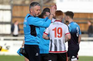 bath city '100 per cent' making progress, says jerry gill after newport county draw