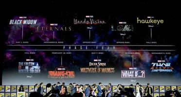 every marvel phase 4 movie and tv show announced at sdcc 2019